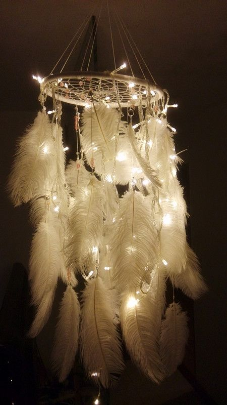 """Dream Catcher"" flowy twinkle lights ll be sweet in your"