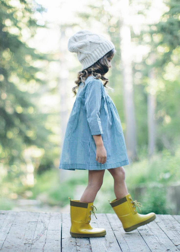 """""""Grace… I think you should…"""" """"No. I like my yellow boots"""" (baby Grace) — by M"""