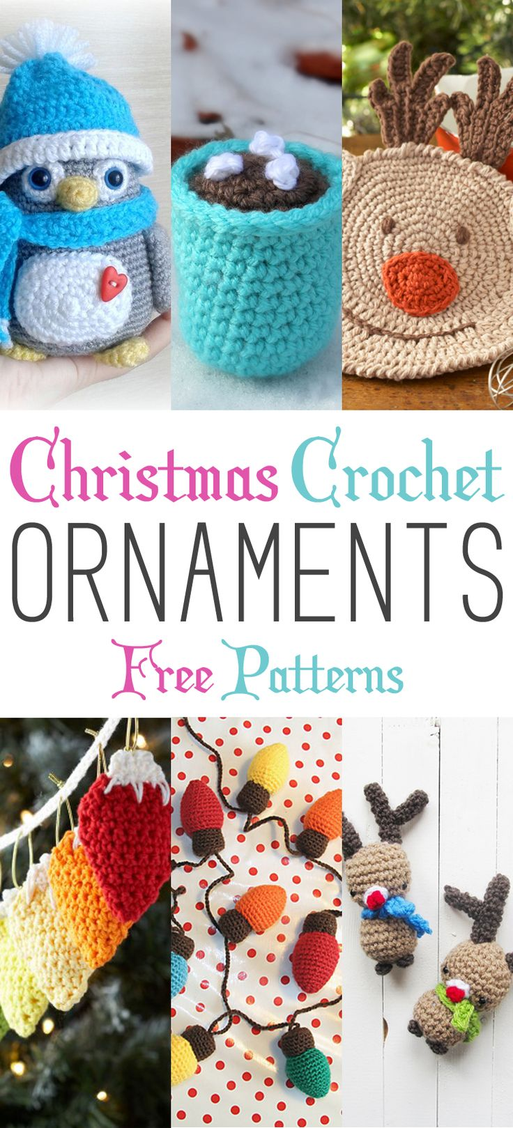 Christmas Crochet Ornaments with Free Patterns – The Cottage Market