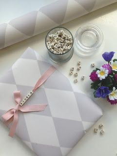 """Use letter beads on a string use their name, or """"happy bday""""/whatever celebration theyr"""