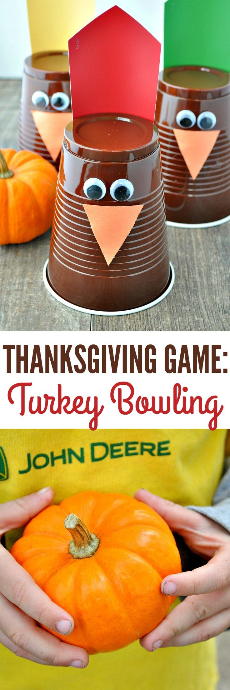 Entertain the kids while youre in the kitchen with a fun and easy Thanksgivin