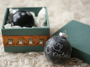 Check Out A Chalk Ornament