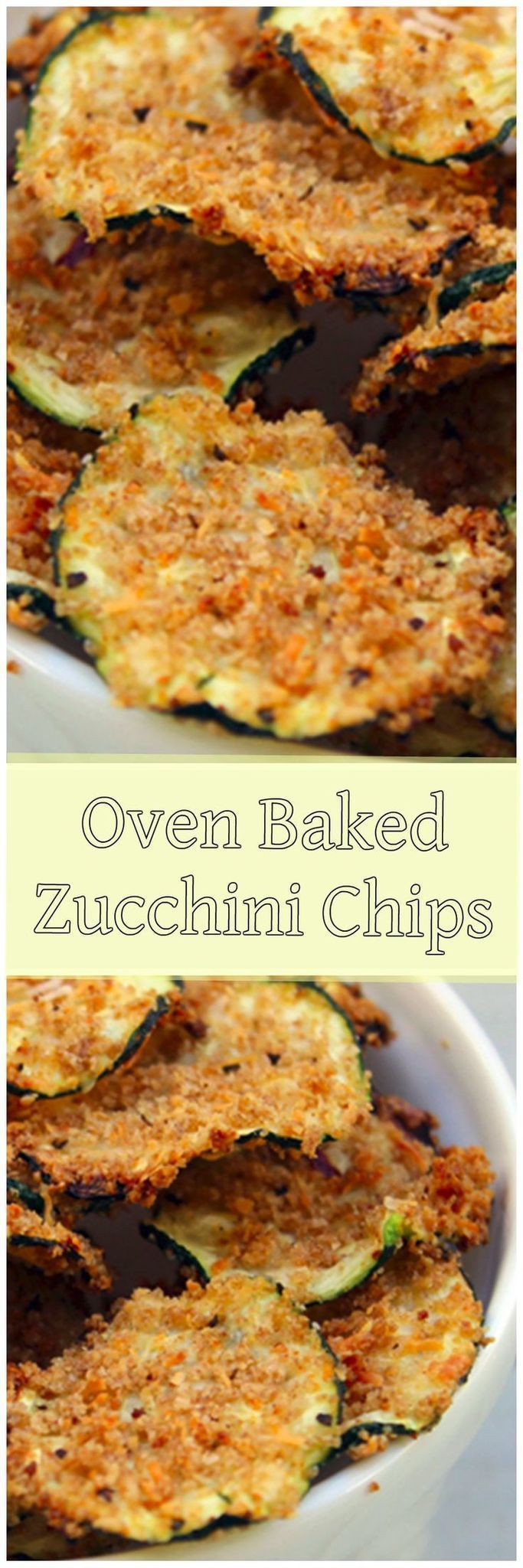 Crunchy chips don't have to be sinful! These zucchini chips satisfy that craving a