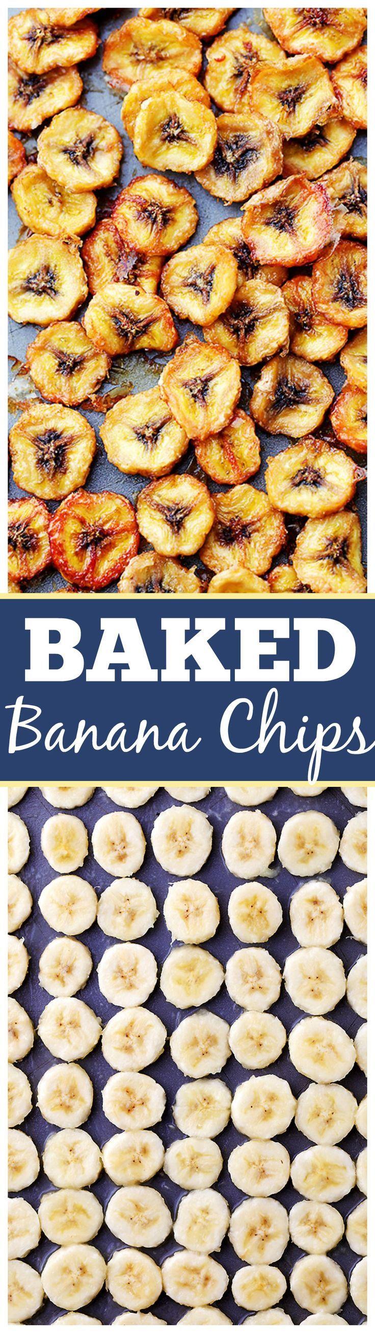 Homemade Baked Banana Chips – Deliciously sweet and guilt-free baked banana chip