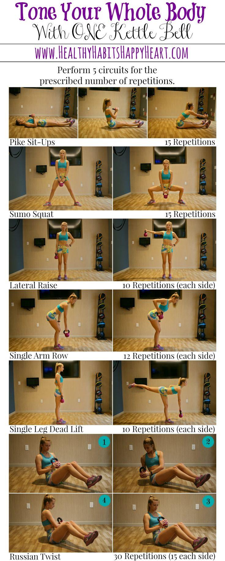 Kettle Bell Workout – Full Body