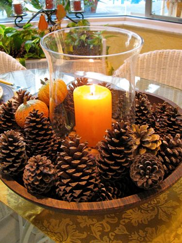 Pine Cone Crafts – Ideas for Pinecone Christmas Decorations – Country Living