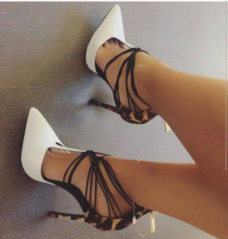 Lust for Life Leather T-Strap Pumps