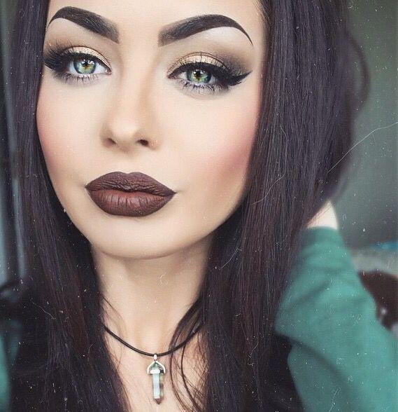 alternative, beautiful, beauty, eye makeup, eyebrows, eyelashes, eyes, eyeshadow,
