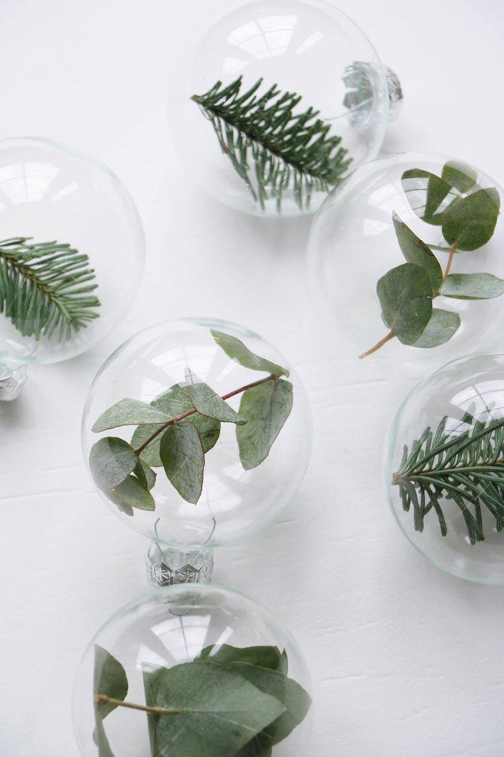 DIY kerstballen met groen, Styling & Fotografie: Marij Hessel