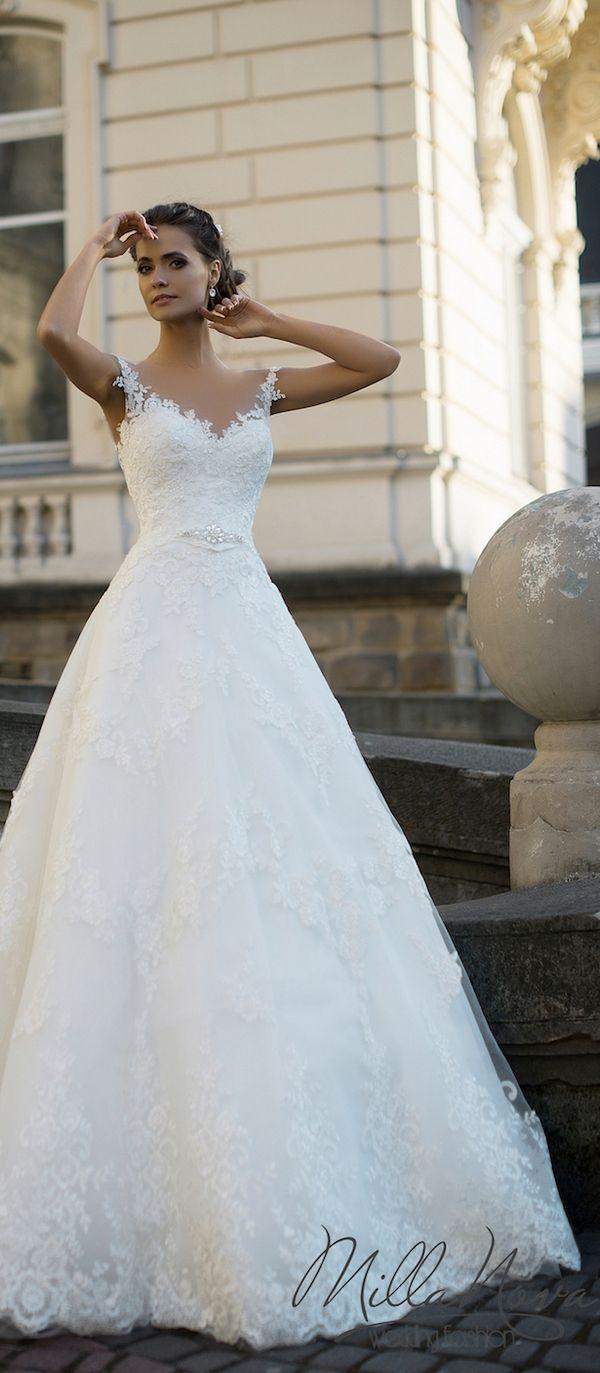 Milla Nova 2016 Bridal Wedding Dresses / www.deerpearlflow…