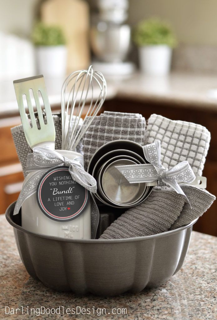 Do it Yourself Gift Basket Ideas for all Occassions – Use a Bundt Pan as the Gift