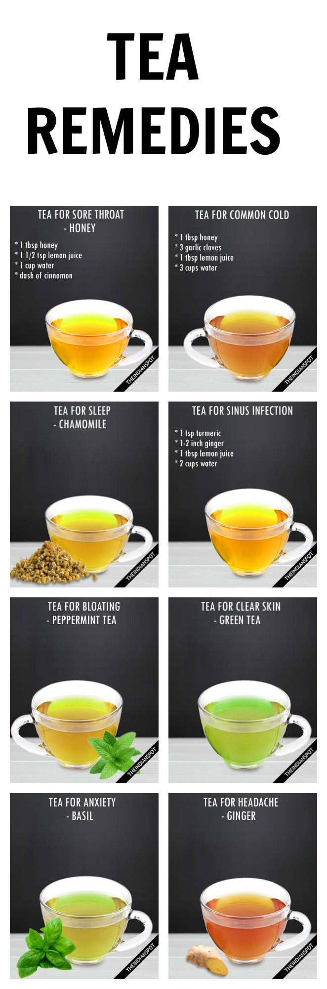 Teas are the best way of consuming herbs besides; the dissolved essential…