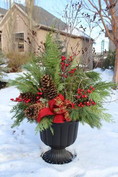 Christmas Decor traditional-landscape