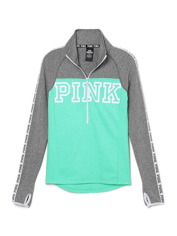 Victoria's Secret Pink Ultimate Deep Zip Pullover