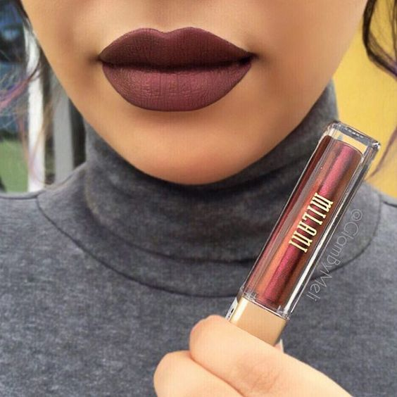 Amore Matte Metallic Lipstik