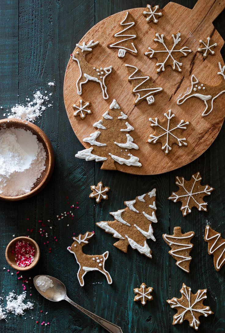 These Old-fashioned Gingerbread Cookies are dairy free, gluten free, refined sugar