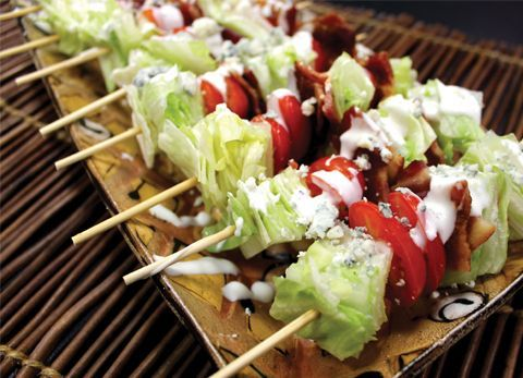 Wedge Salad on a Stick | A Very Bacon Thanksgiving: staff recipes from the Novembe