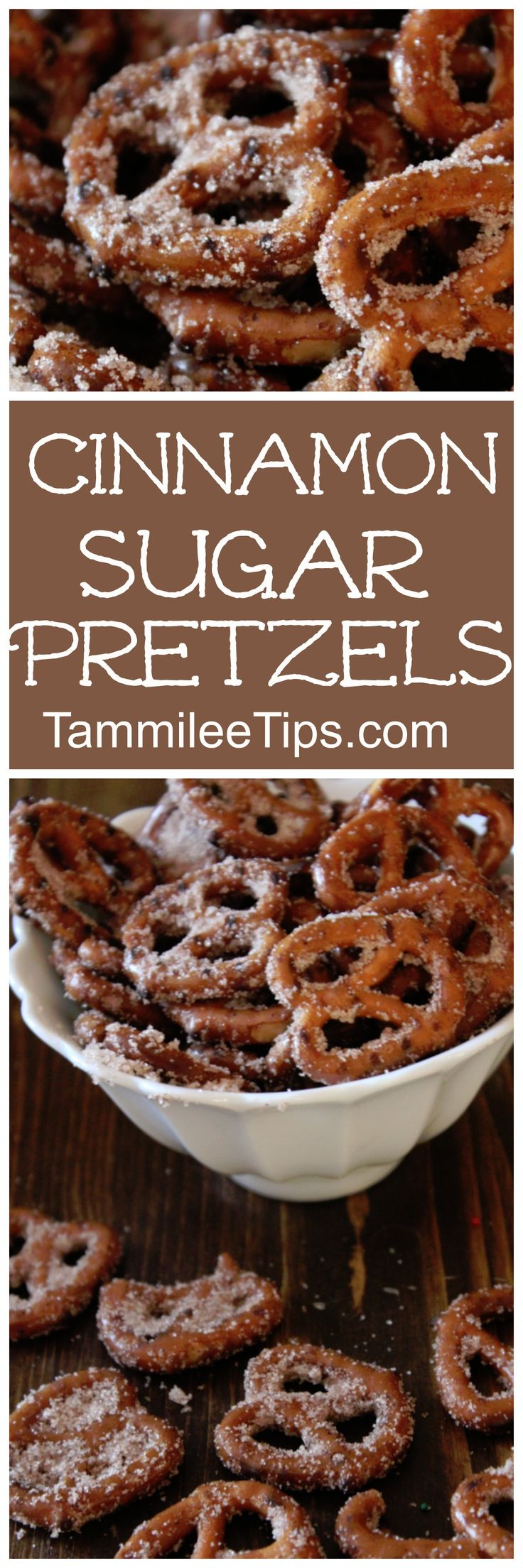 Super easy Cinnamon Sugar Pretzels! Perfect for DIY Homemade holiday gifts! This s