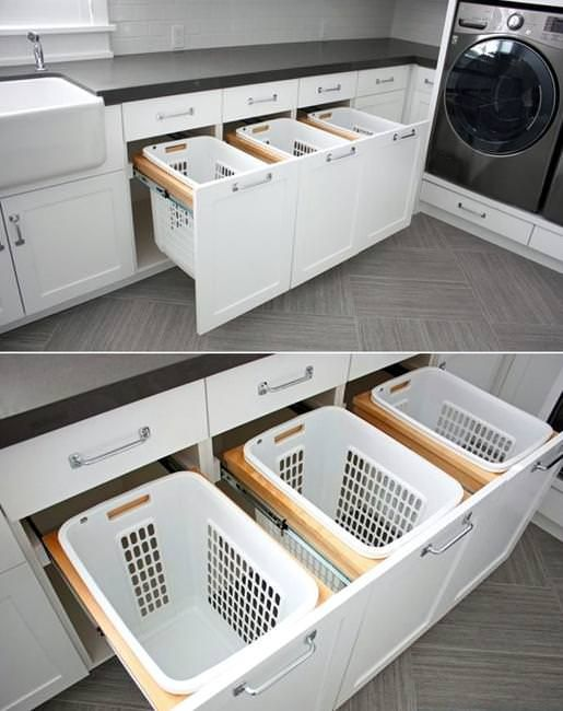 Have a small laundry room? Thinking about to make it more functional and efficient