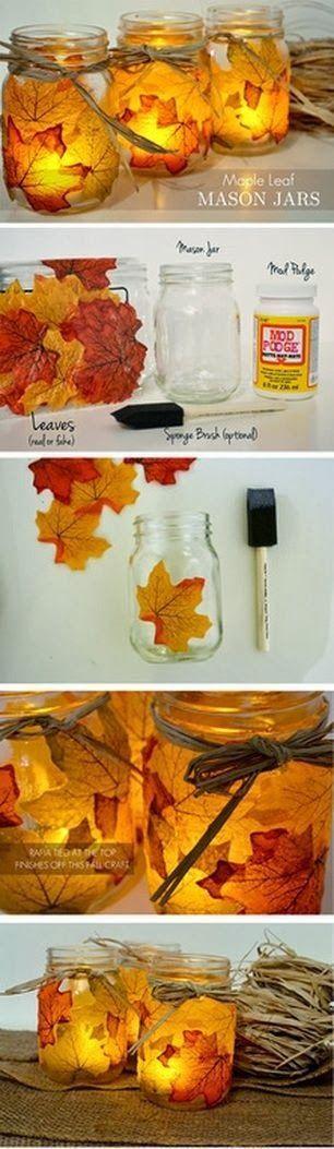 8 Fun and Easy DIY Fall Wedding Decoration Ideas |  www.deerpearlflow…    But wi