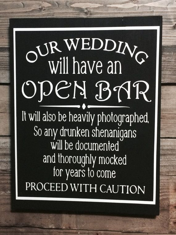 This Drunken Shenanigans wedding artwork is made to order and absolutely perfect f