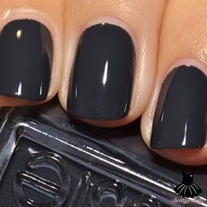 Essies Bobbing for Baubles- lighter than black, more chic than gray. Love this…