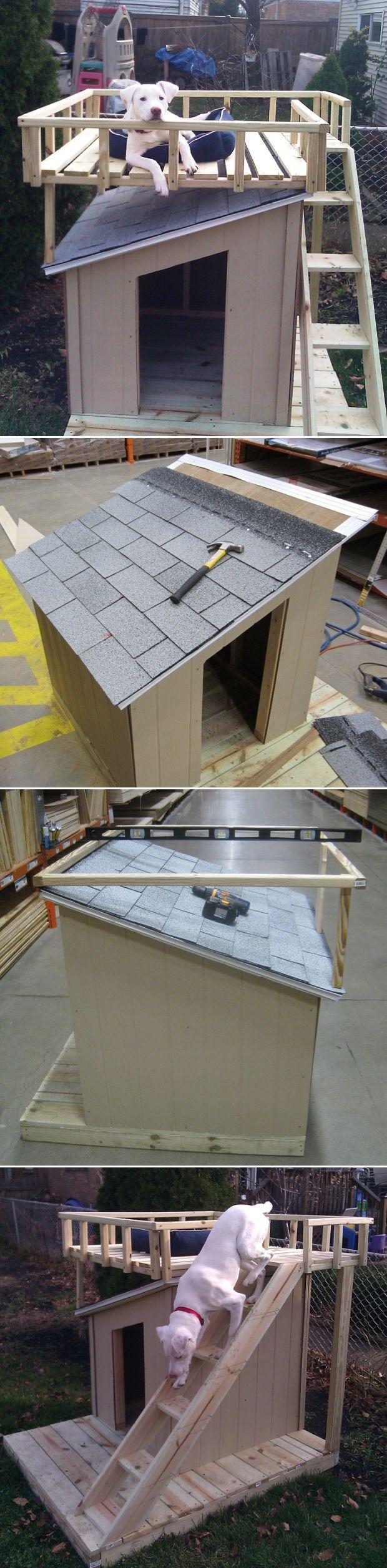 Awesome DIY Dog House.