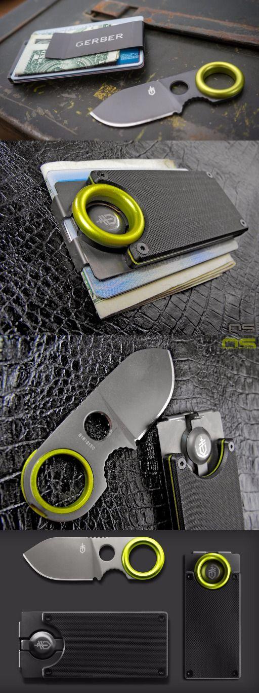 Gerber GDC Money Clip – edc everyday carry money clip with knife