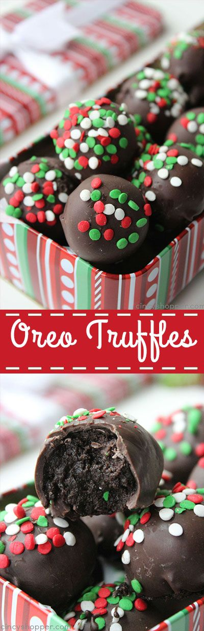 Oreo Truffles Balls – simple to make and they make for a perfect candy to gift dur