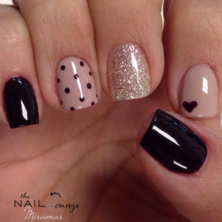 the_nail_lounge_miramar heart nail art design Discover and share your nail design