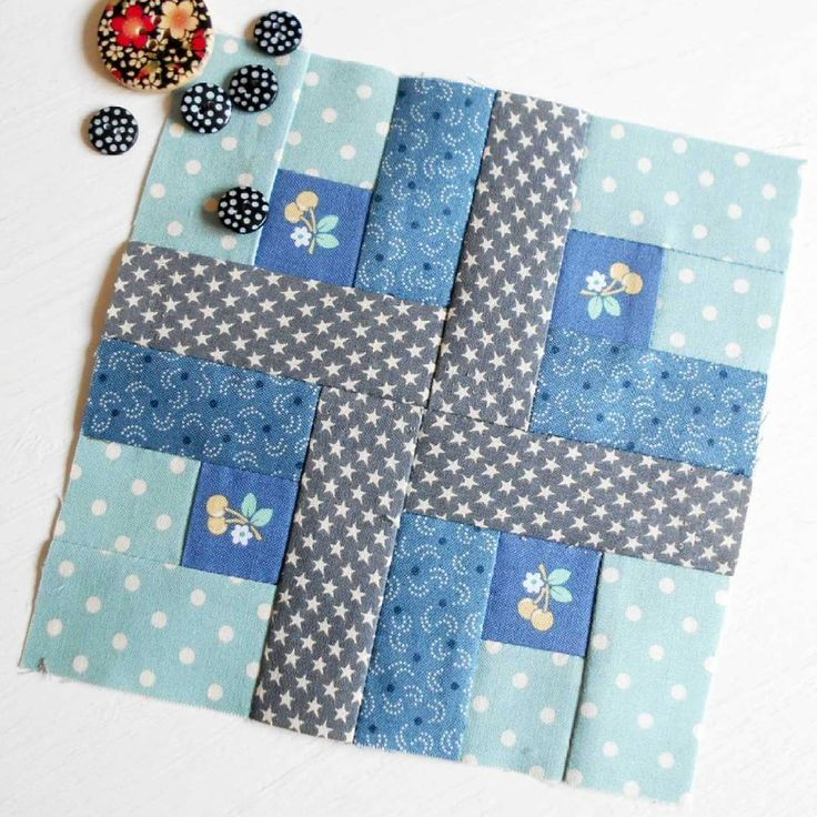 100 Modern Quilt Blocks – Block One. This is the first block from Tula Pinks