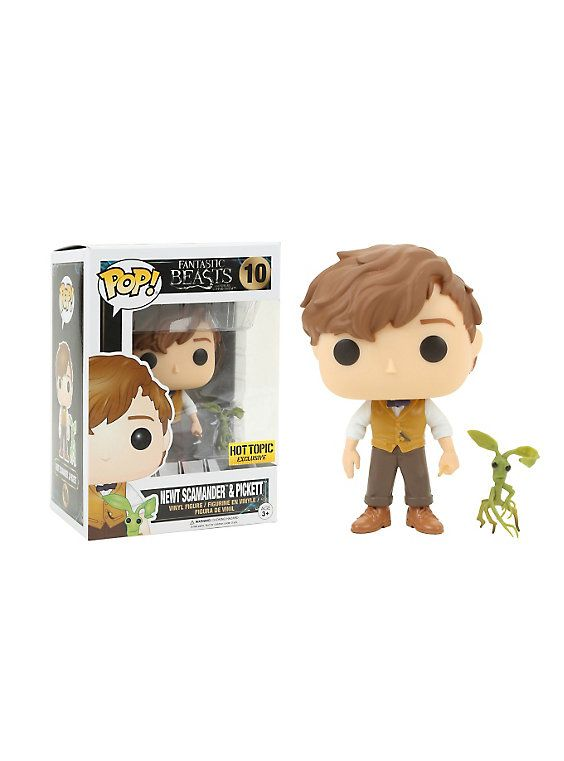 Funko Fantastic Beasts And Where To Find Them Pop! #10 Newt Scamander & Pickett (H