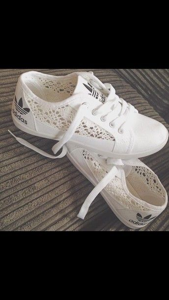 Shoes: adidas, sports, white, adidas shoes – Wheretoget