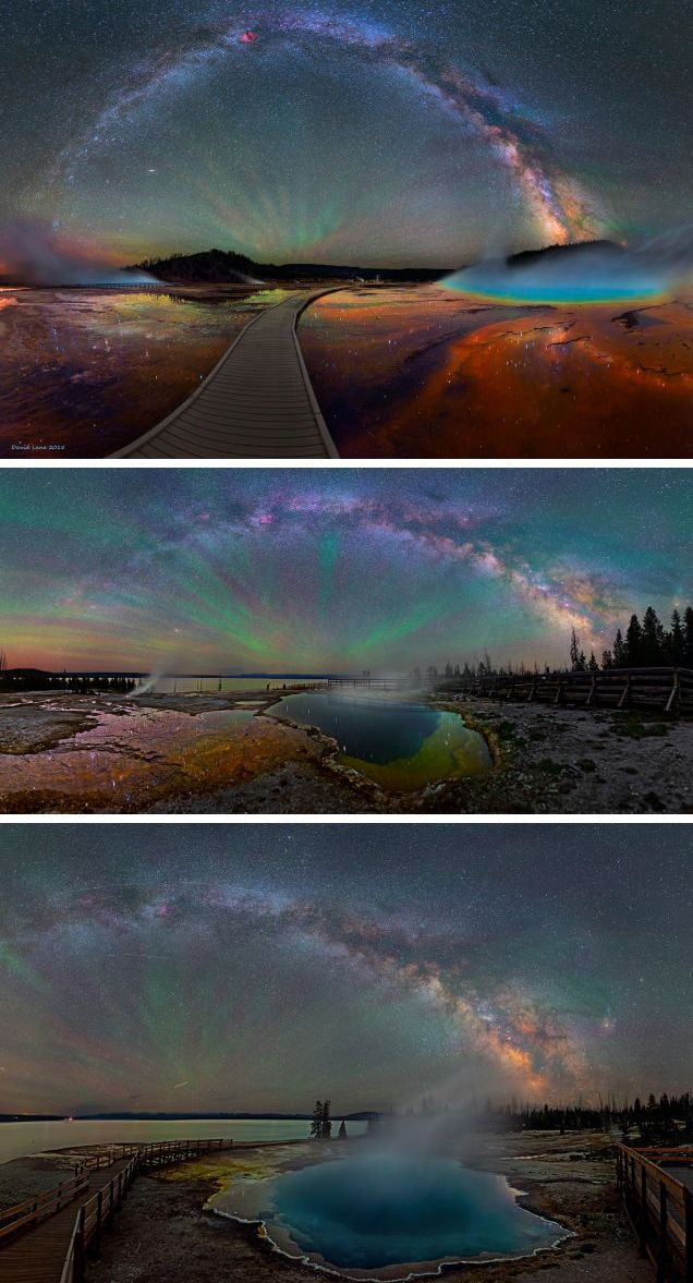 These photographs of Yellowstone National Park by Dave Lane are so gorgeous it's