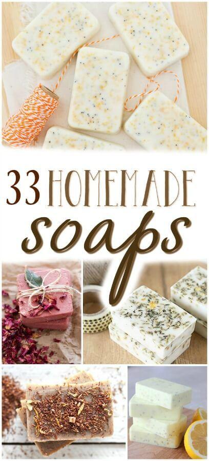 cool How to Make Homemade Soap – 33 Homemade Soap Recipes