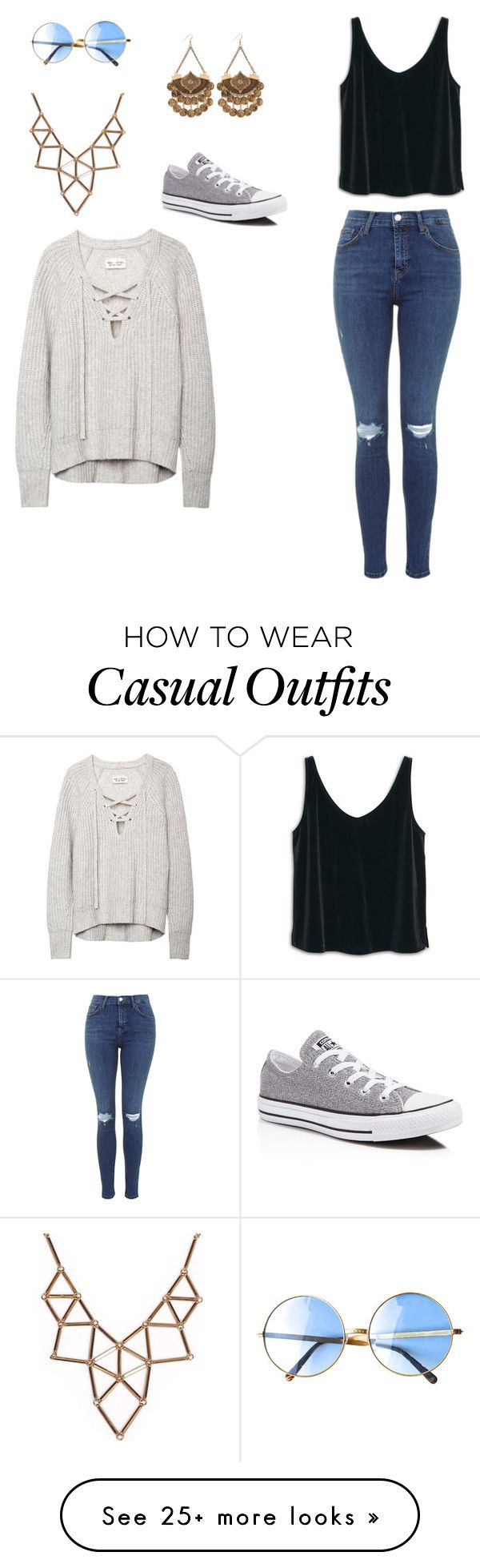 """Casual"" by isabelle108 on Polyvore featuring MANGO, Chicnova Fashion an"
