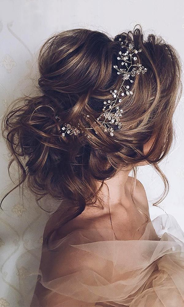 Wedding Hairstyles And Romantic Bridal Updos ❤ See more: www.weddingforwar