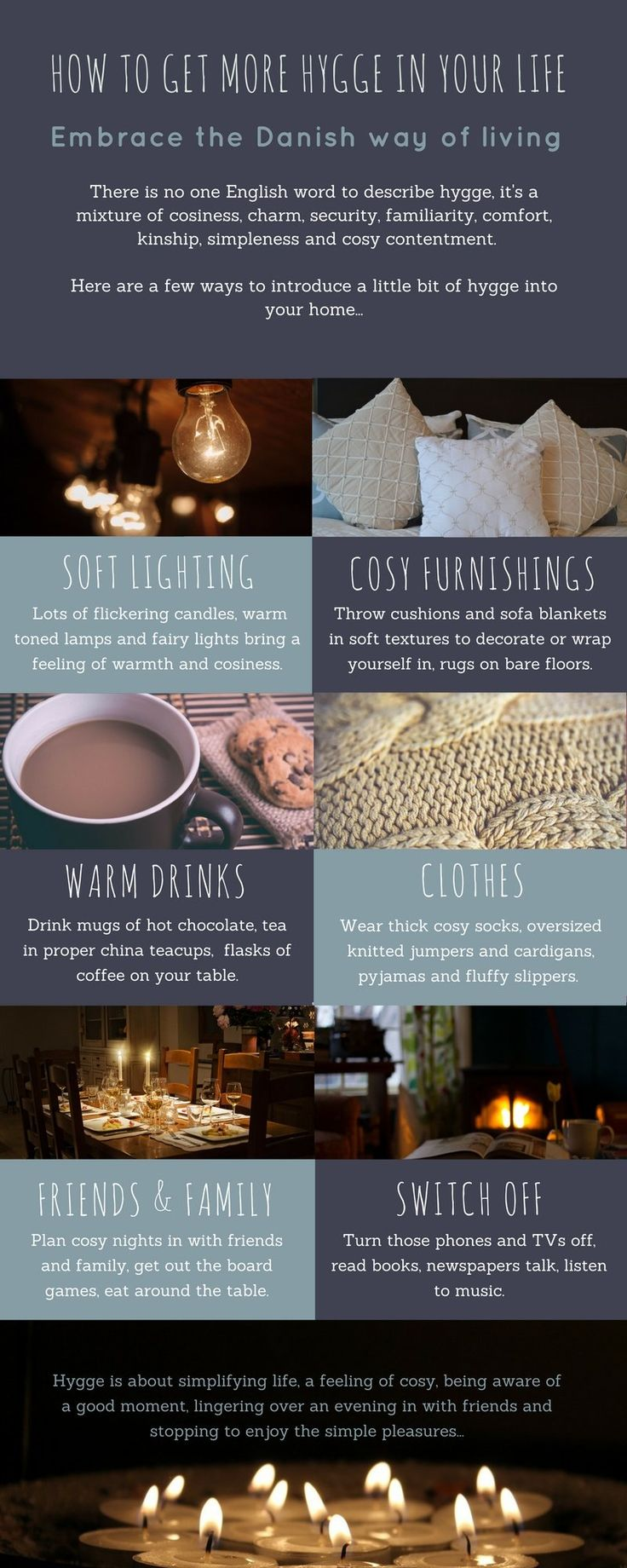 Why you need hygge in your life…and how to find it! Come and find out some more about hygge and how to get a bit more into your