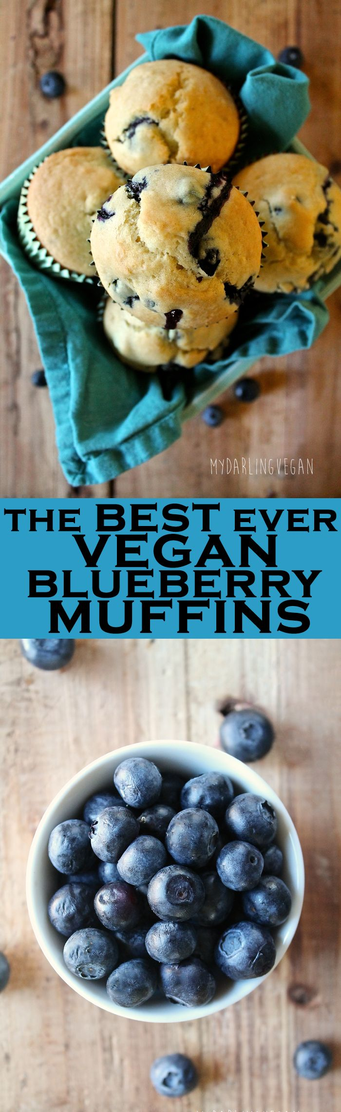 These vegan blueberry muffins are the perfect combination of sweet, flaky, buttery, and zesty. Check out why everyone is loving it