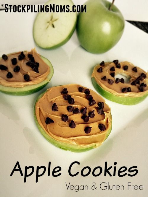 Apple Cookies are healthy and delicious which makes them the perfect vegan and gluten free snack!
