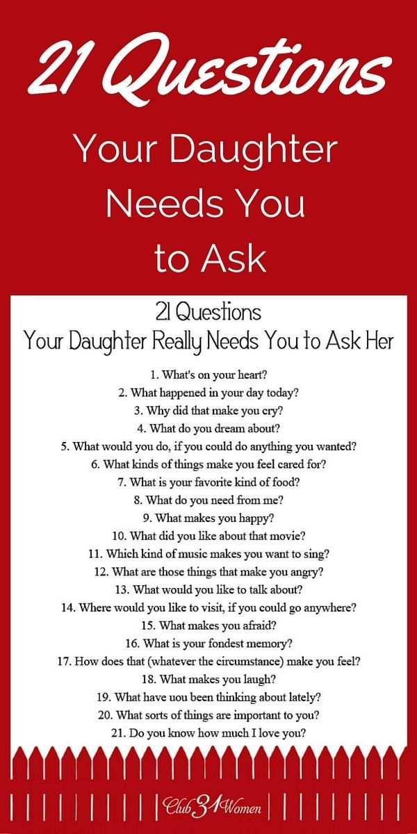 FREE Printable! So how do you develop a close relationship with your daughter? How
