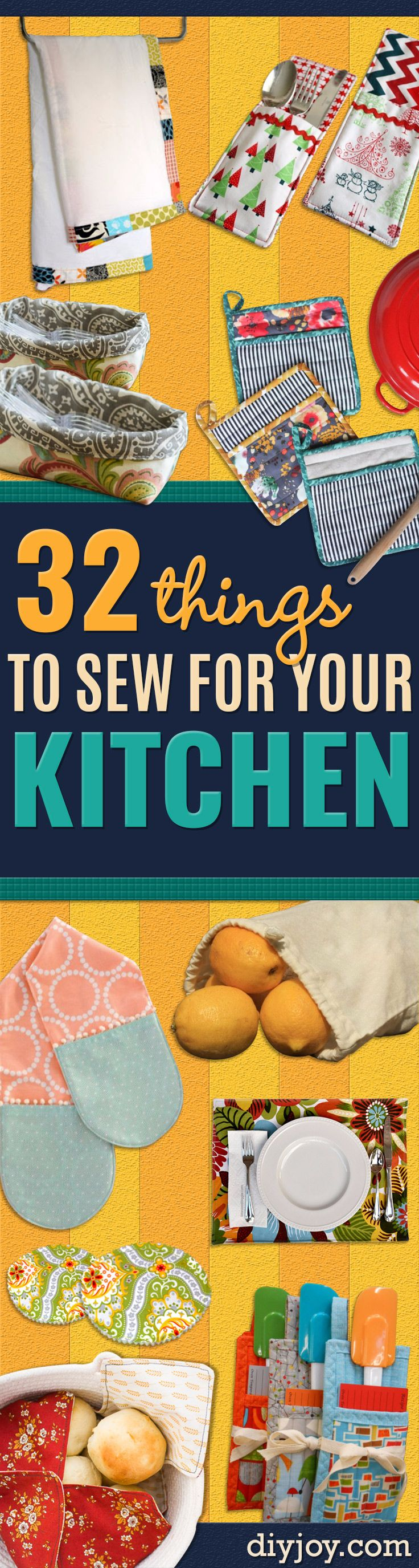 DIY Sewing Projects for the Kitchen – Easy Sewing Tutorials and Patterns for Towel