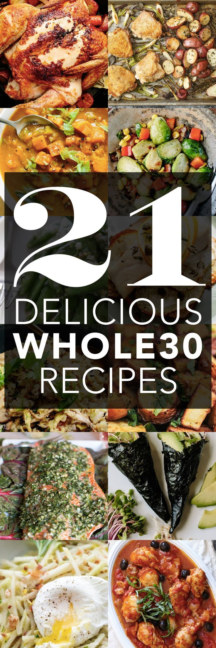 21 DELICIOUS Whole30 Approved Recipes and Ideas. You dont have to go hungry w