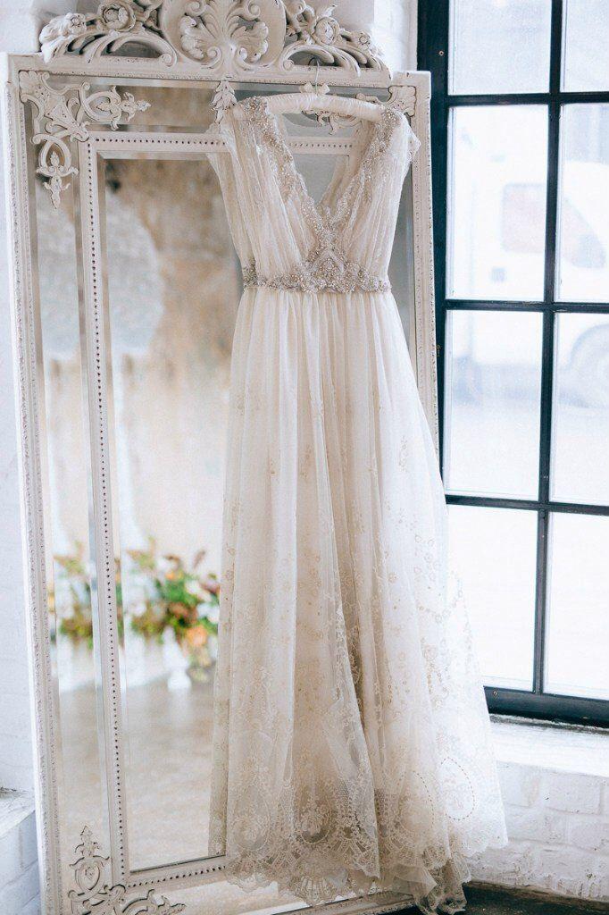 Wedding Dress by @Таня Кочнова www.allysonjames.net