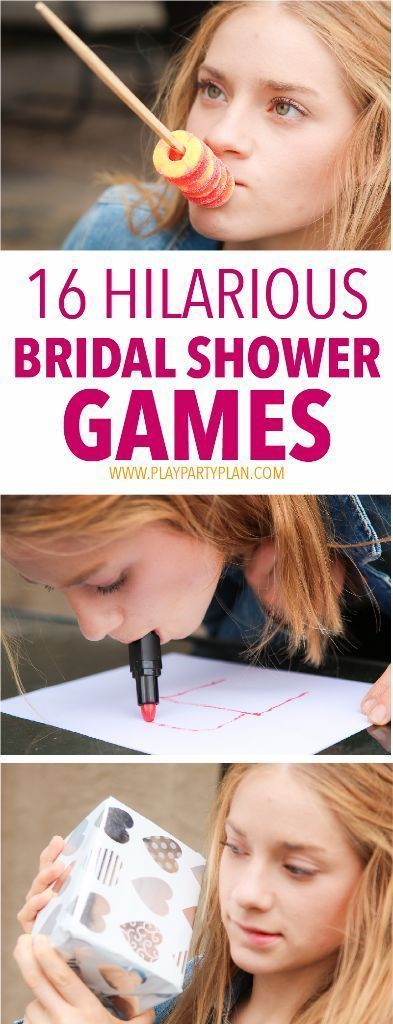 16 of the best bridal shower games ever, these look like so much fun! Im definitely using these bridal shower game ideas at my