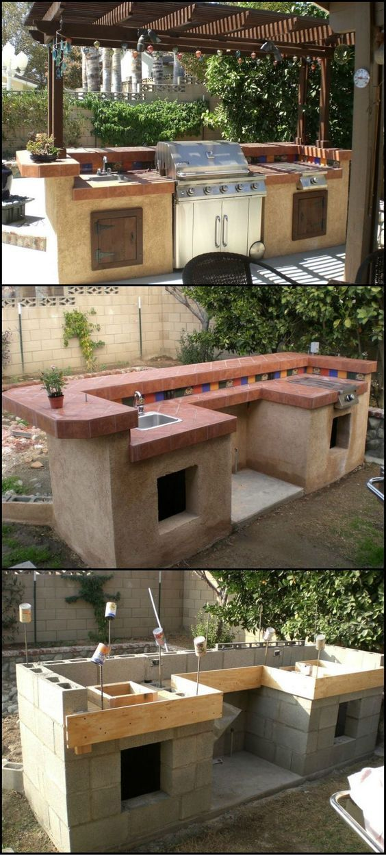 How To Build An Outdoor Kitchen theownerbuilderne… Thinking of ways to enhance your backyard? Then build an outdoor kitchen!