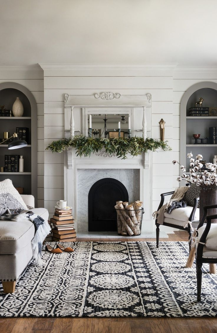 Great ideas for updating with area rugs.