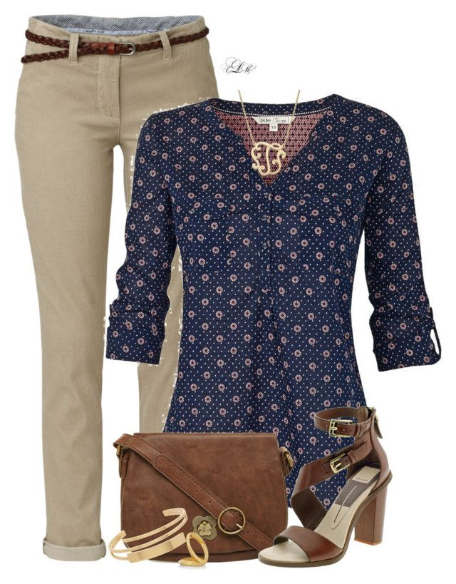 Casual Office by tmlstyle on Polyvore featuring polyvore, fashion, style, Fat Face, Nica, Yves Saint Laurent, Giani Bernini,