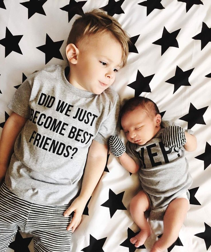 Matching Best Friend Tees Twins Did We Just Become Best Friends? Yep! Siblings pregnancy announcement BFF ADD 2 for a SET