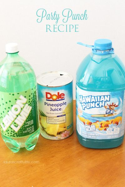 Party Punch Recipe – Lauras Crafty Life